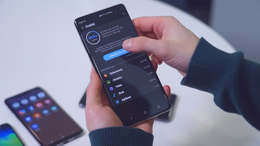 Samsung Galaxy S10+ a výdrž batérie