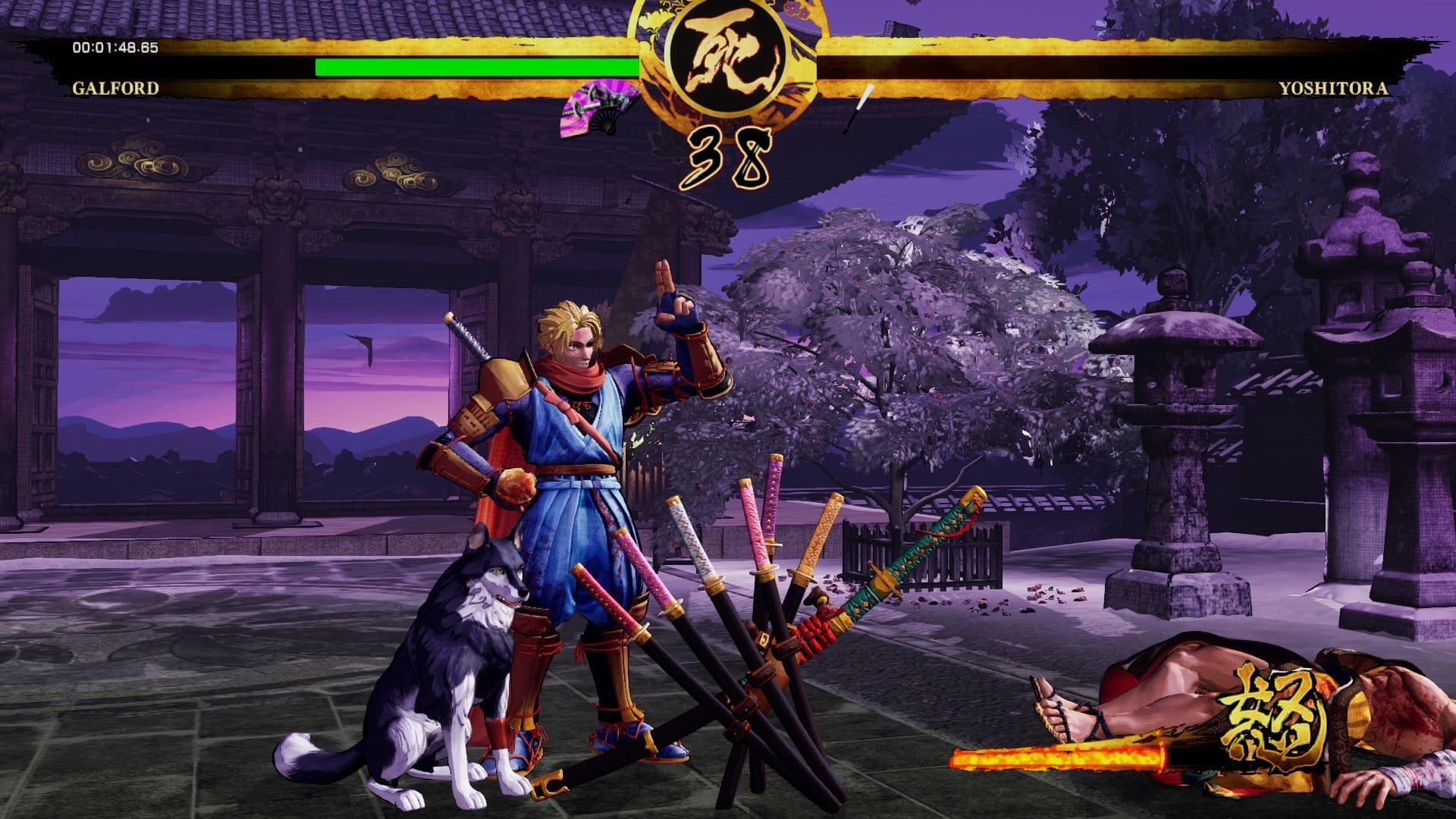 Samurai Shodown; gameplay: zbrane