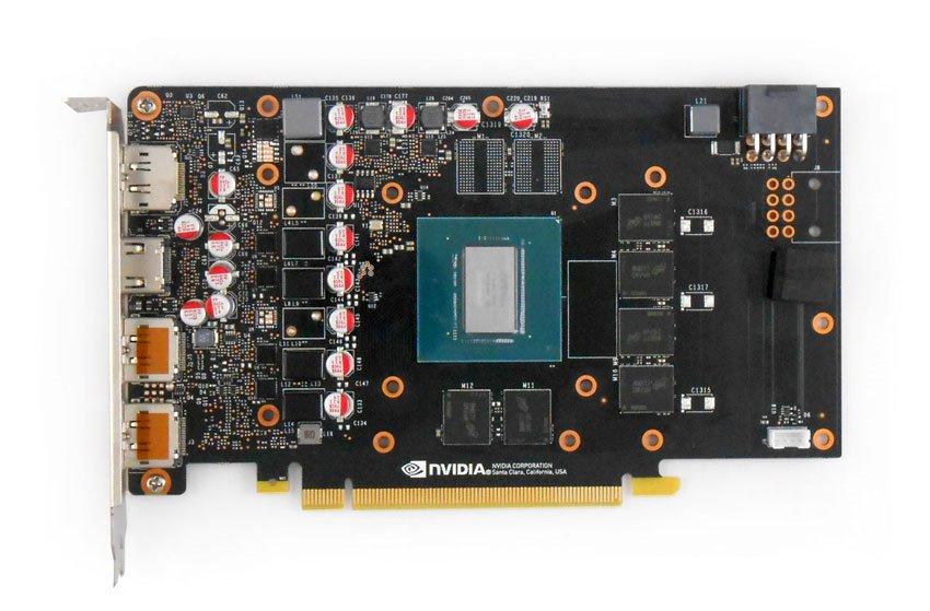 Inno3D GTX 1660 TWIN X2; PCB