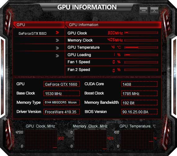 TuneIT; GPU Information