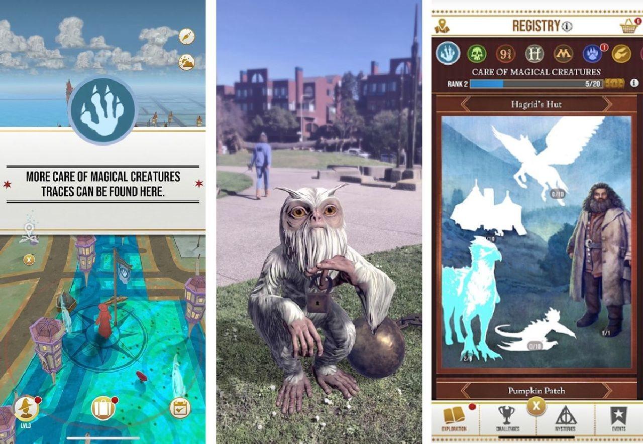 Harry Potter: Wizards Unite, screenshot, gameplay