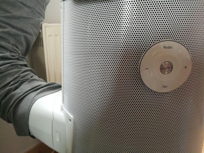 Pripojenie a ovládanie mobilnej klimatizácie Electrolux WP71-265W