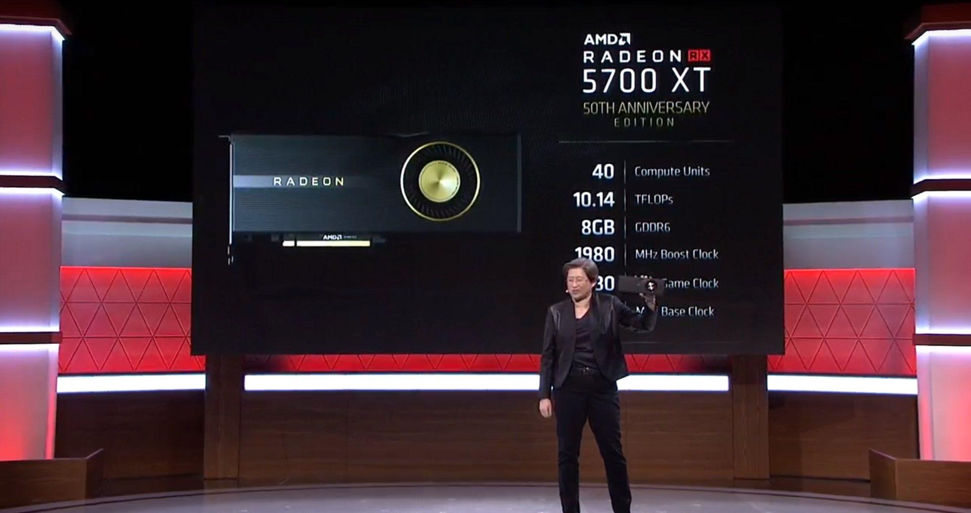 AMD; screenshot: AMD Radeon 5700
