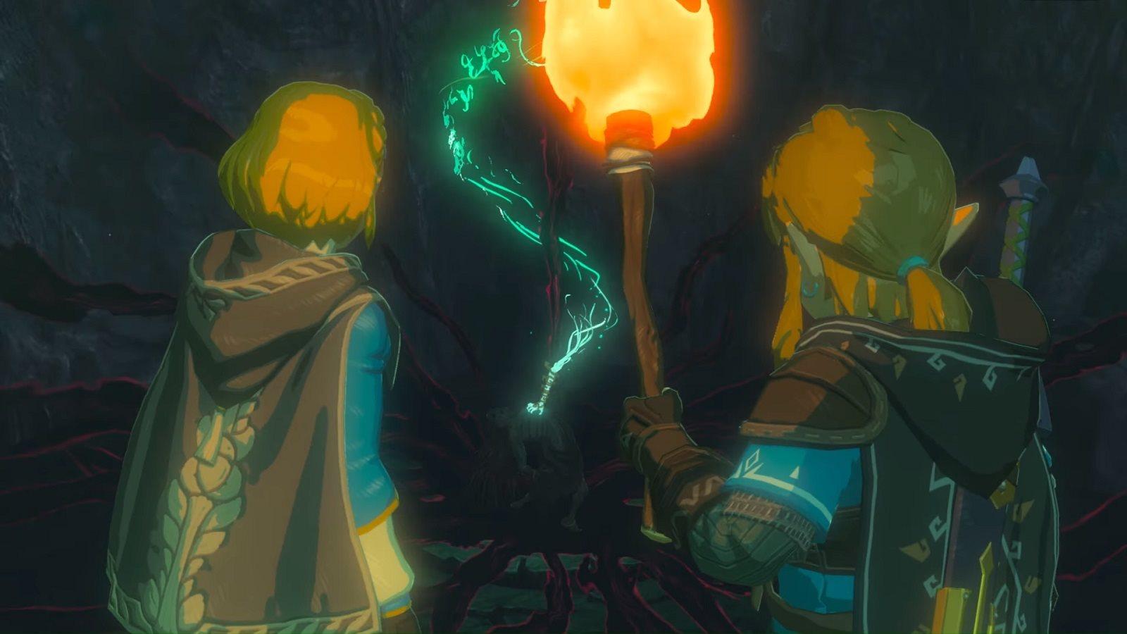The Legend of Zelda: Breath of the Wild 2, screenshot, Link, Zelda; screenshot: Keanu Reeves