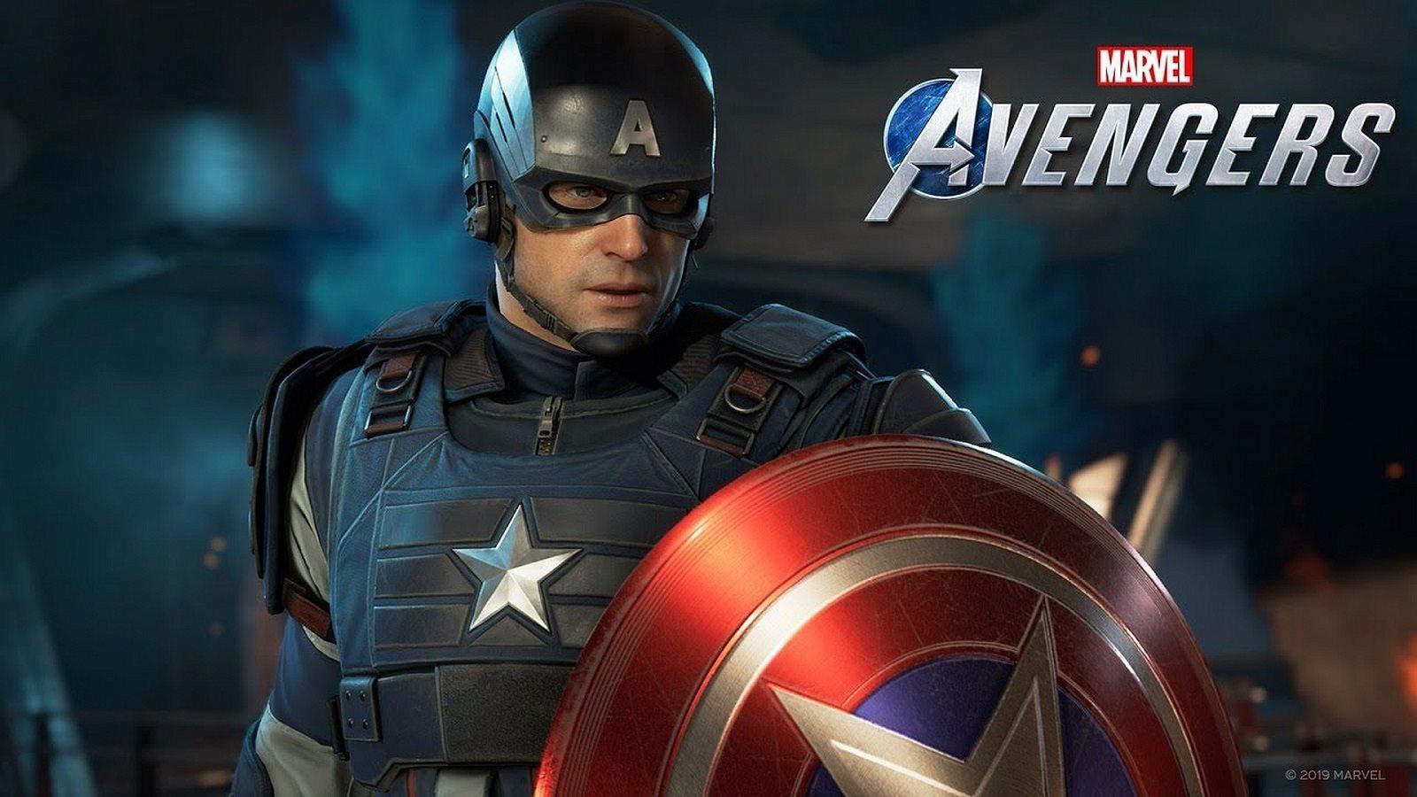 Marvel's Avengers; screenshot: Captain America