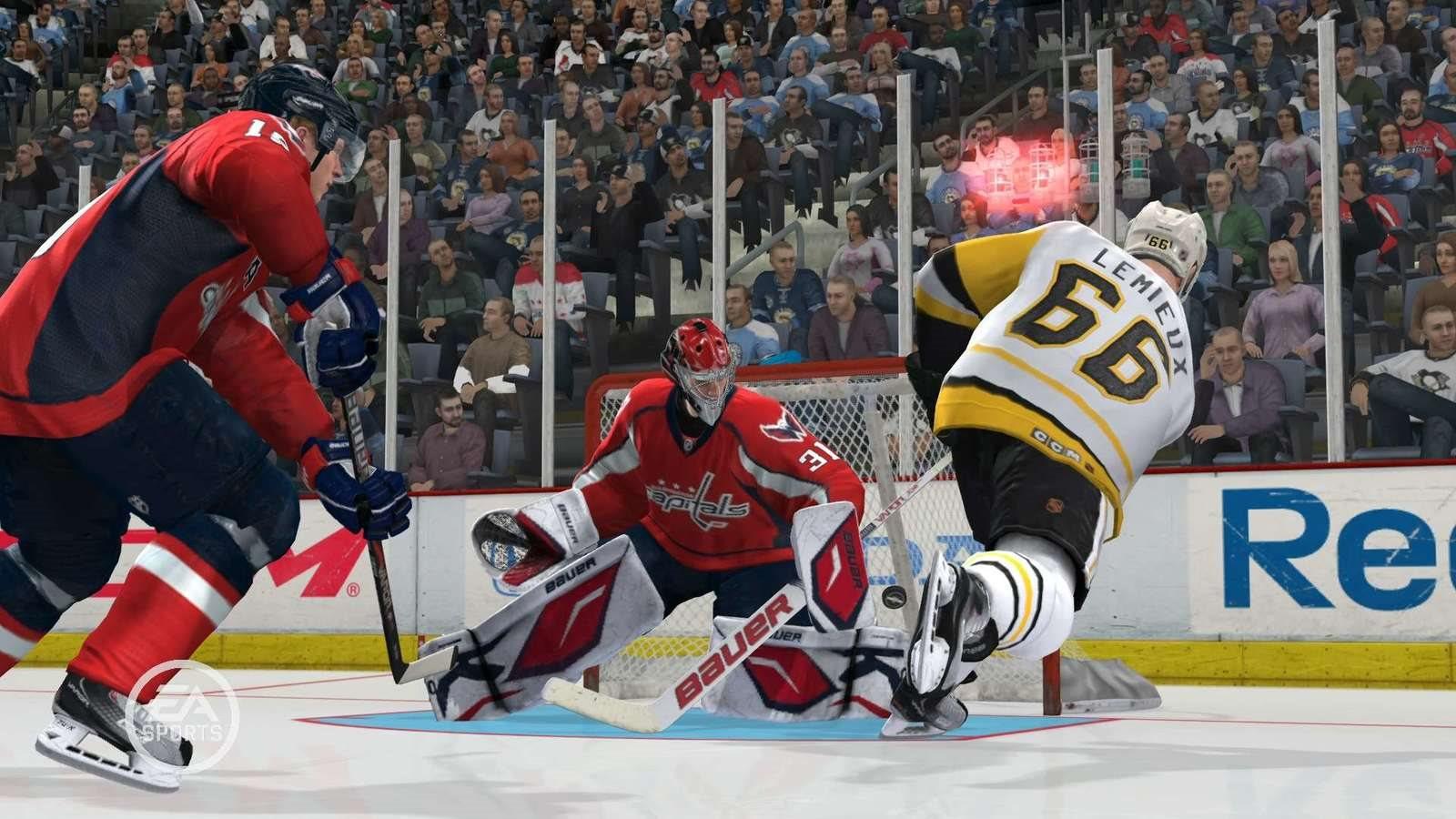 NHL 19, screenshot, gol