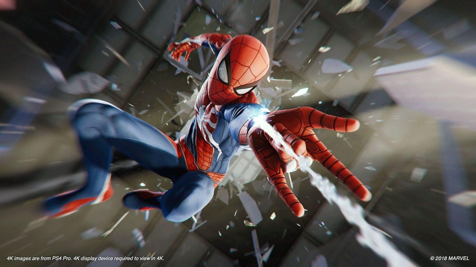 Spider-Man; screenshot: Spidey