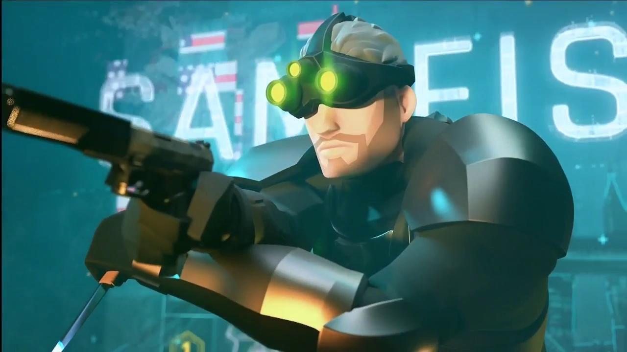 E3 2019; screenshot: sam fisher