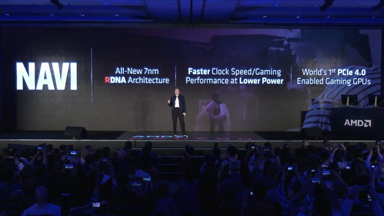 AMD E3 2019; screenshot: cover, logo
