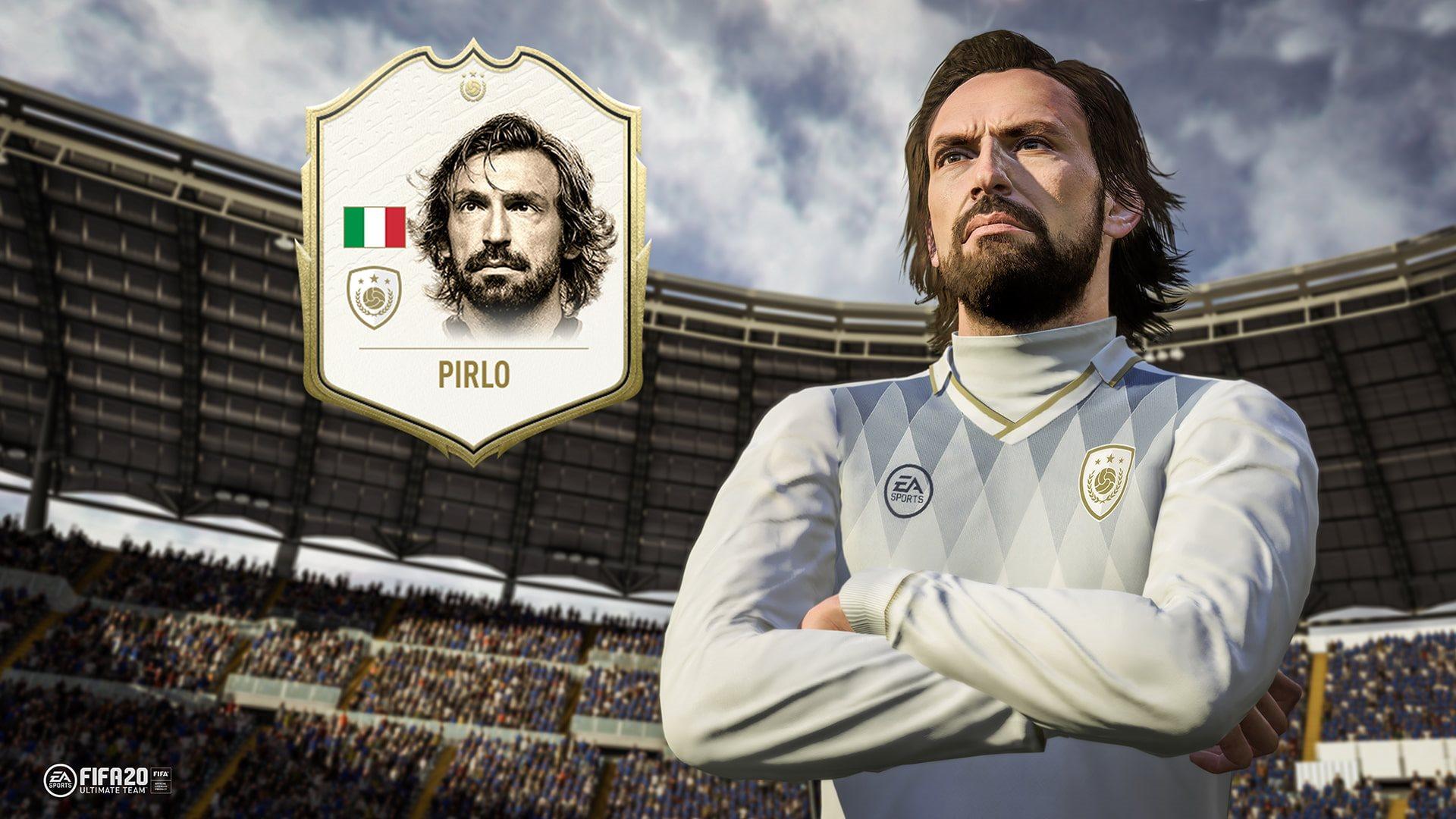 FIFA 20; screenshot: Pirlo