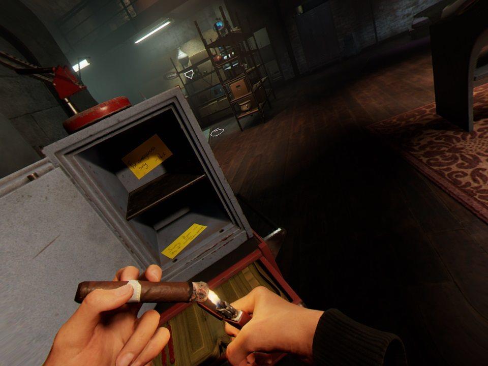 Blood & Truth; gameplay: interakcia