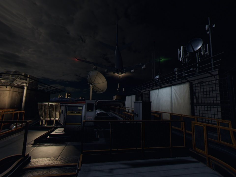 Blood & Truth; screenshot: letisko