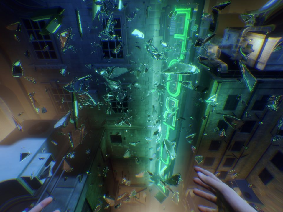 Blood & Truth; gameplay: črepy