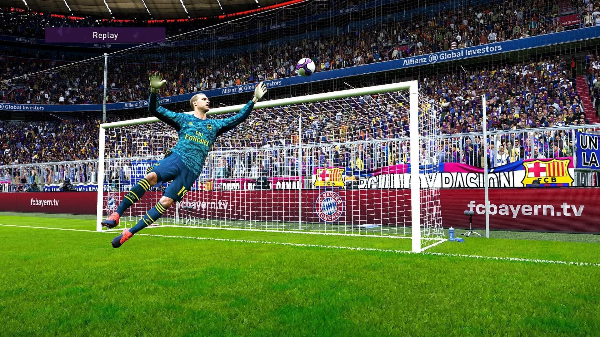 eFootball PES 2020; gameplay: brankár