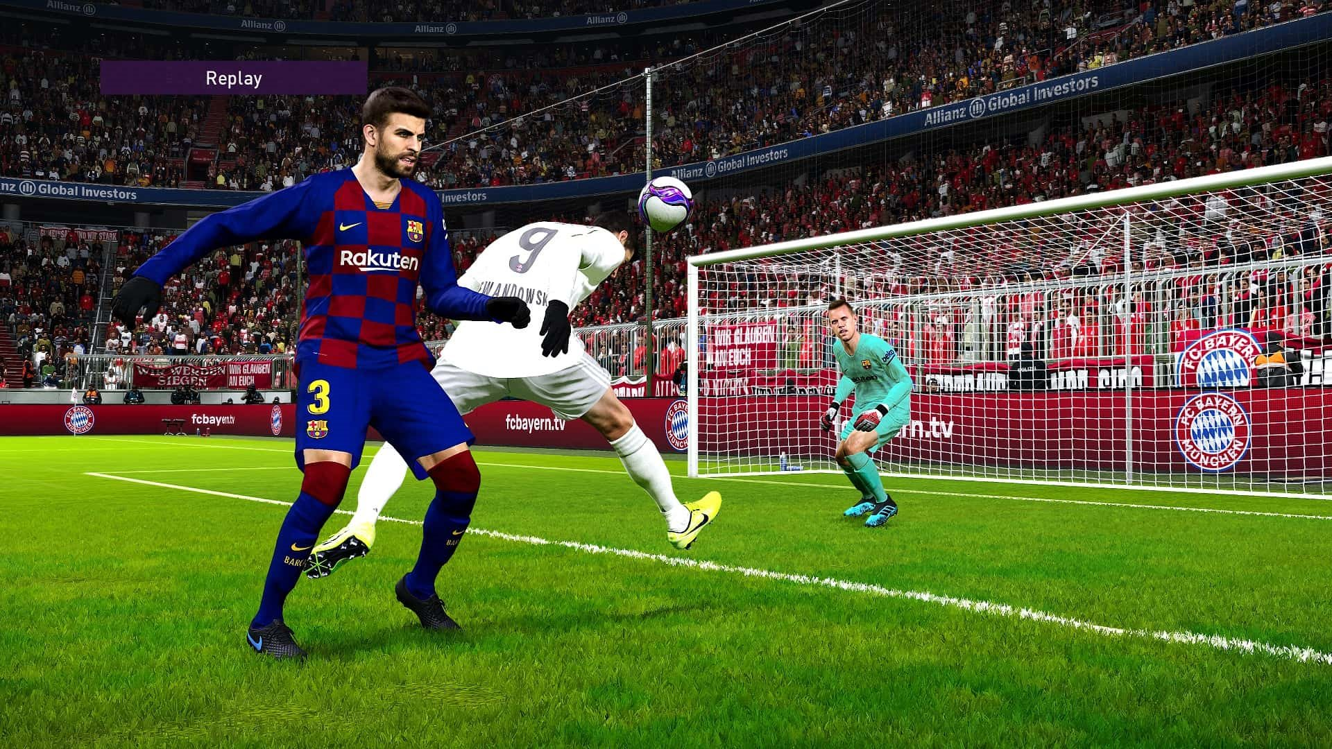 eFootball PES 2020; gameplay: hlavička