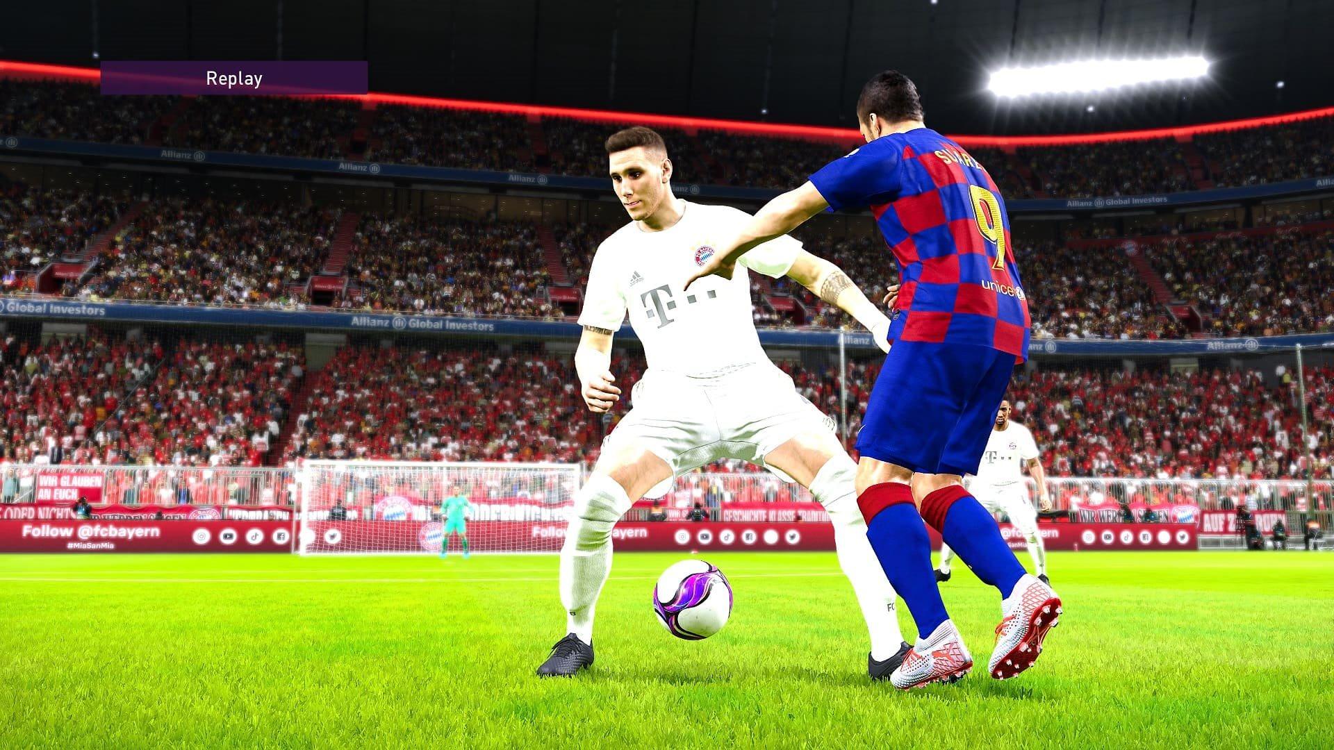 eFootball PES 2020; gameplay: jasle
