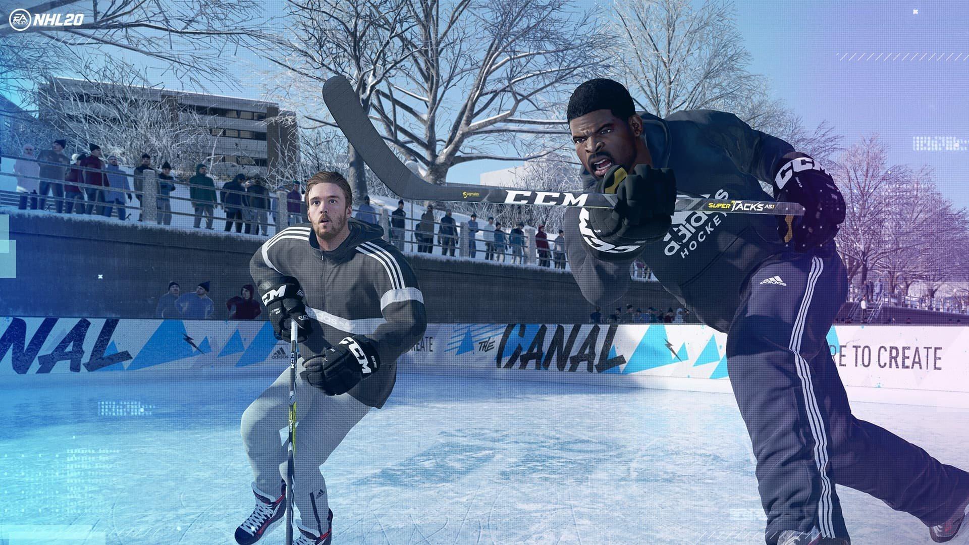 NHL 20; screenshot: chel