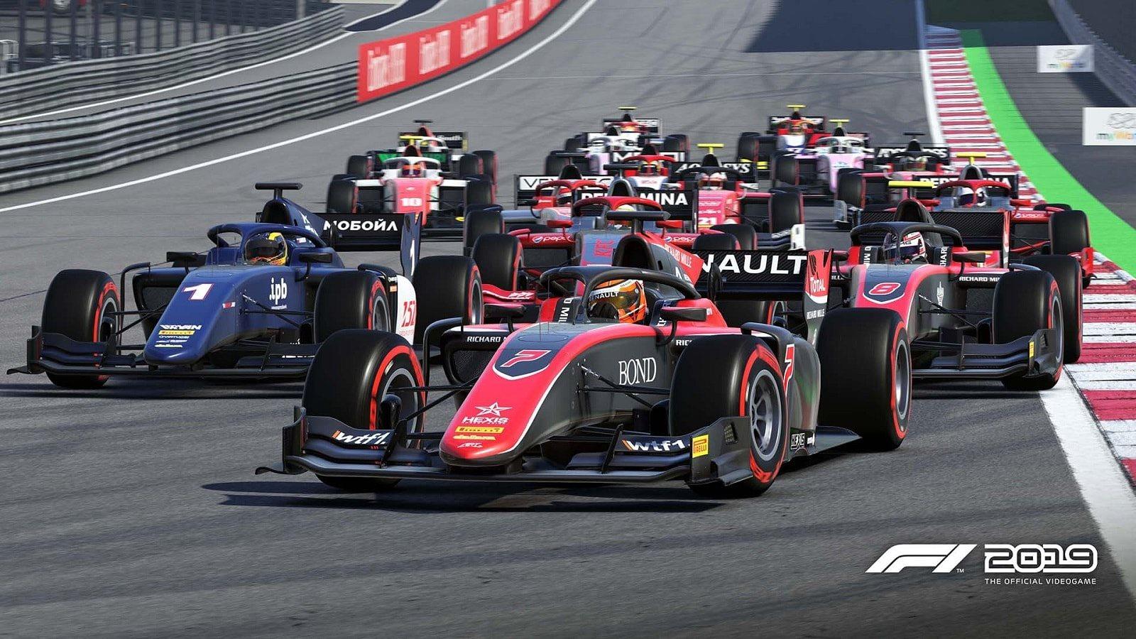 F1 2019; gameplay: start