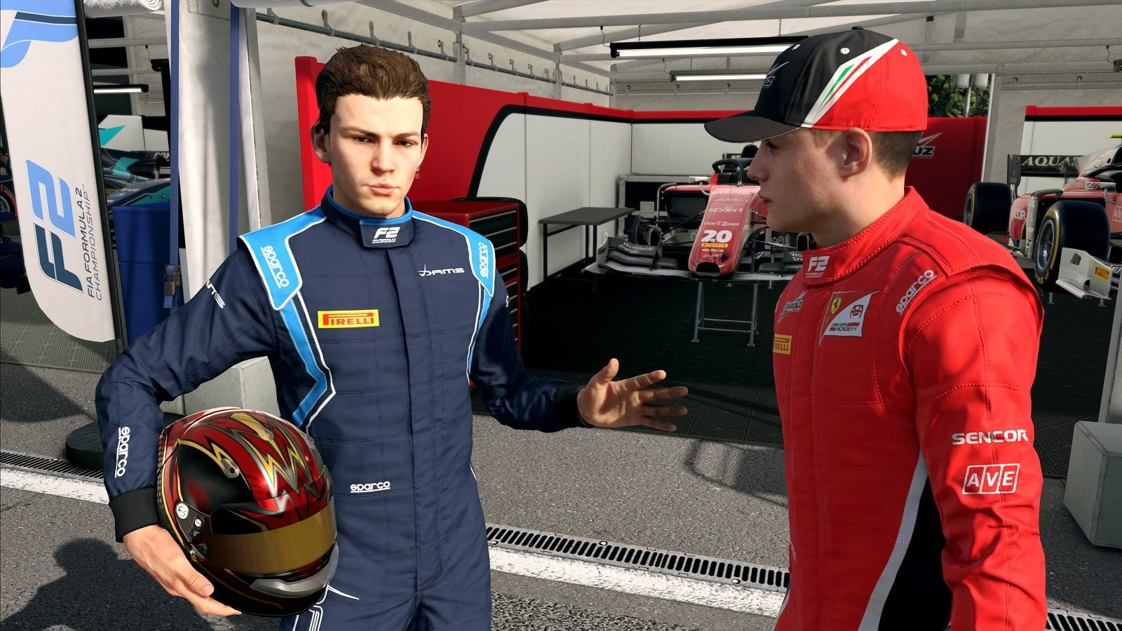 F1 2019; gameplay: devon butler