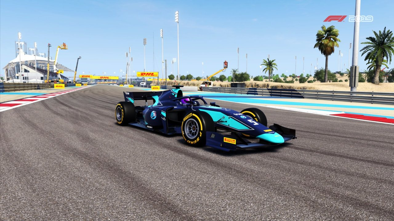F1 2019; gameplay: Formula f2