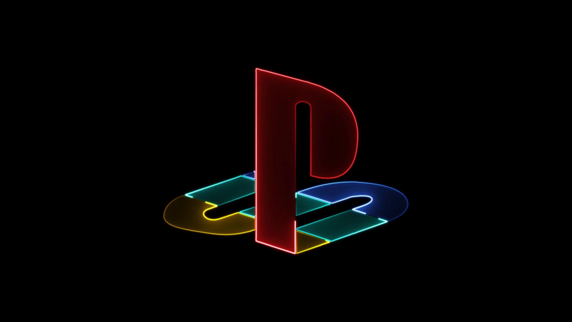 PlayStation; screenshot: PS logo