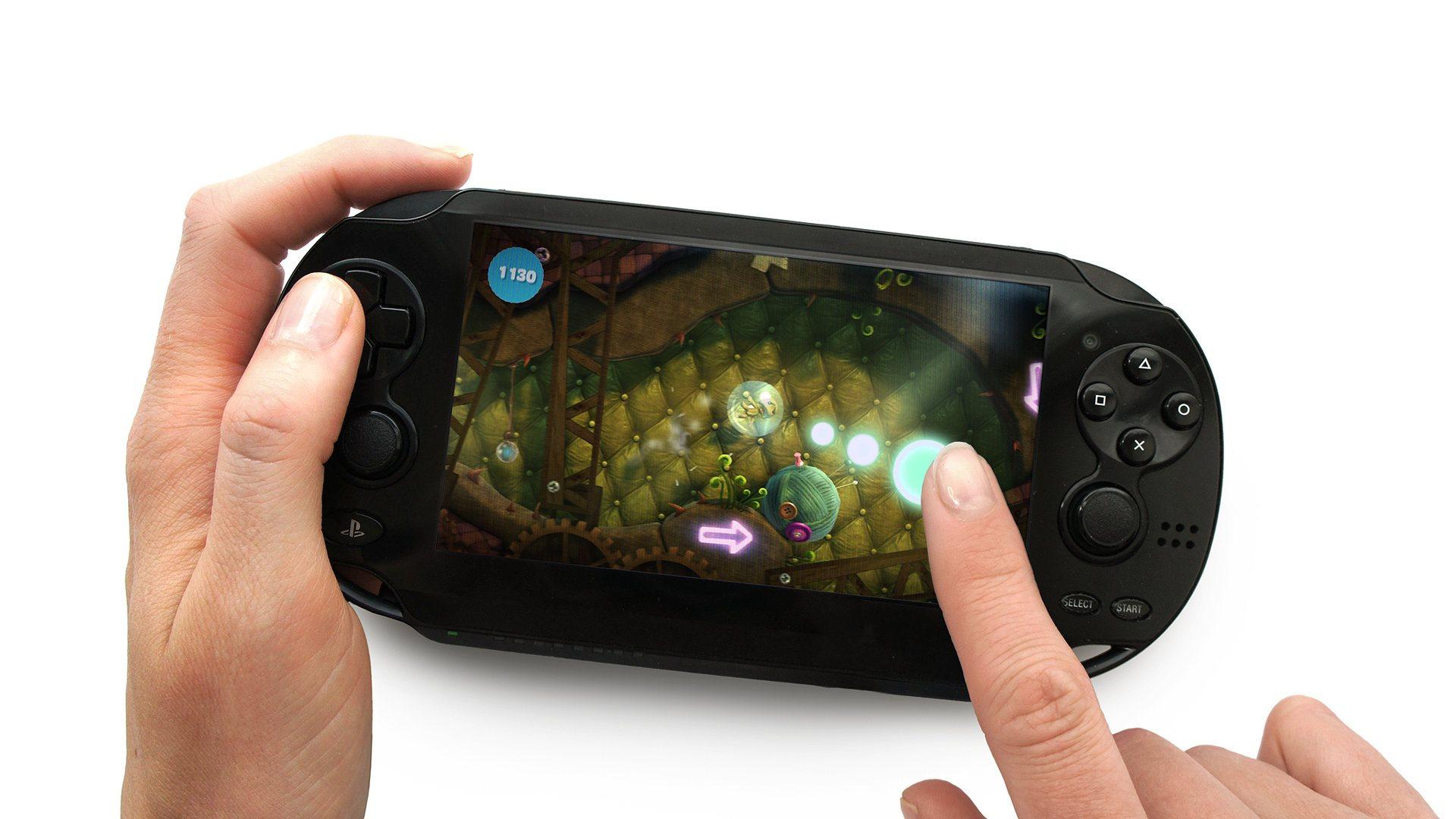 PlayStation Vita; screenshot: PS vita