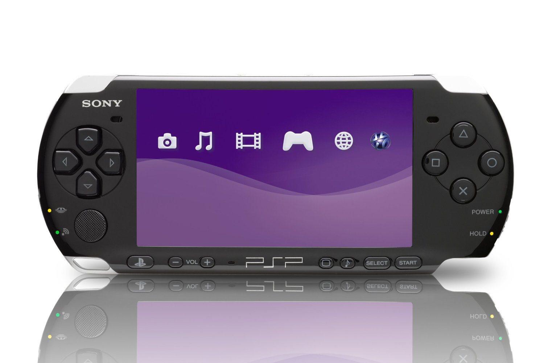 PlayStation Portable; screenshot: PSP