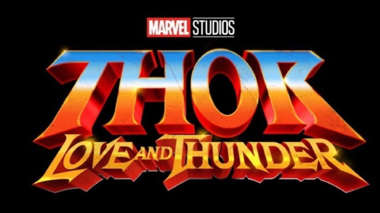 Thor: Love and Thunder; screenshot: logo