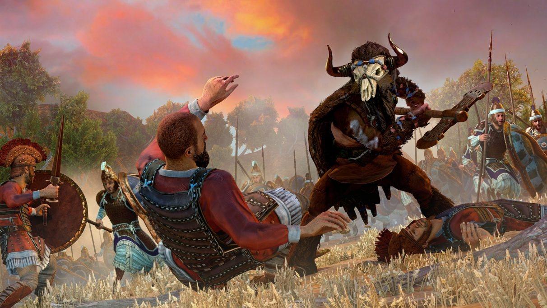 Total War Saga: Troy; screenshot: minotaur
