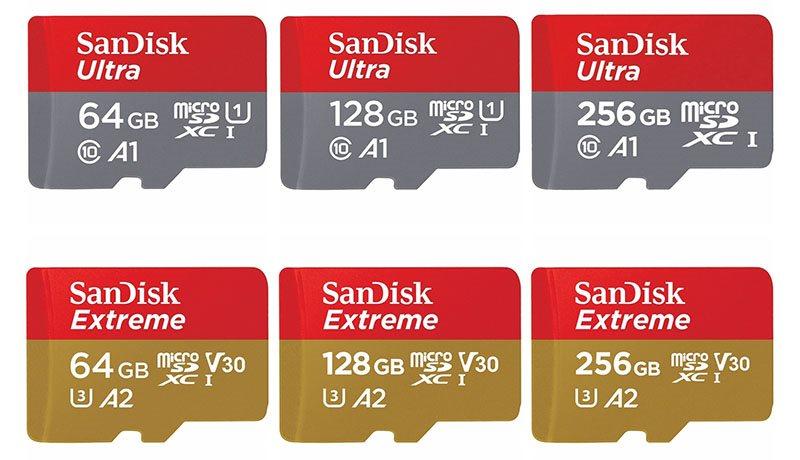 Micro SD A1 A2