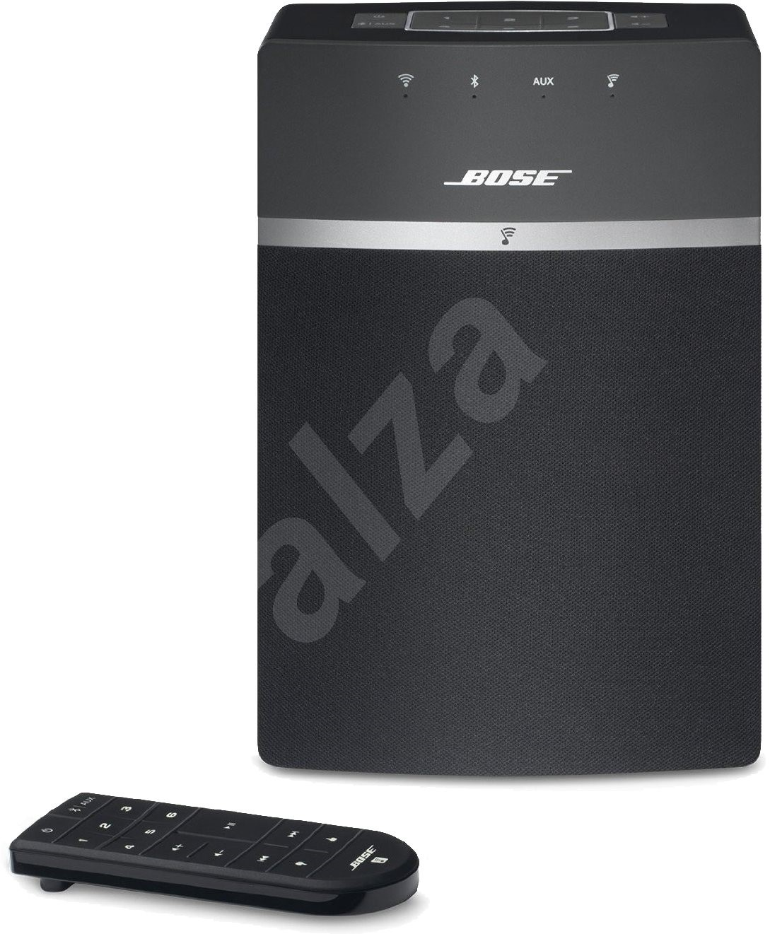 bose soundtouch 10 ierny bluetooth reproduktor. Black Bedroom Furniture Sets. Home Design Ideas